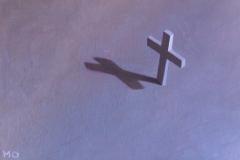 I believe I can fly, 12 x 8 , olieverf op mdf.  Verkocht.