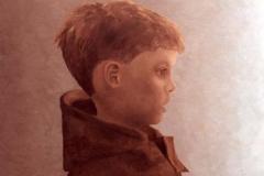Tom, 60 x 75 cm, olieverf op doek.